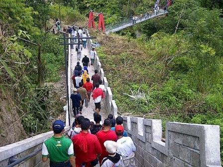 Janjang Seribu Great Wall of Koto Gadang