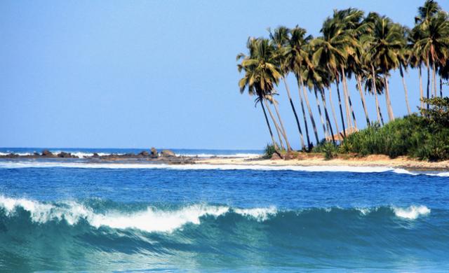 Keindahan Pantai Sawarna Lebak Banten