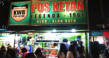 Kuliner Malam Pos Ketan Legenda 1967