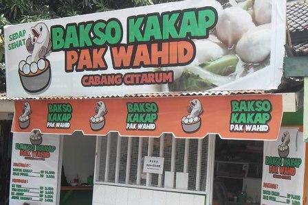 Kuliner Semarang Bakso Kakap Pak Wahid