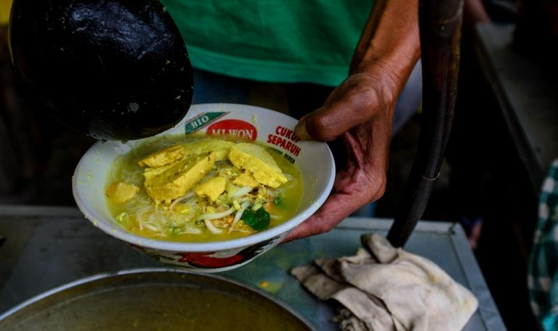 Laksa kp Cincau - kuliner Bogor