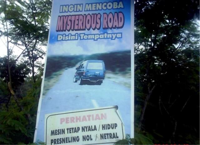 Mysterious Road Gunung Kelud Kediri