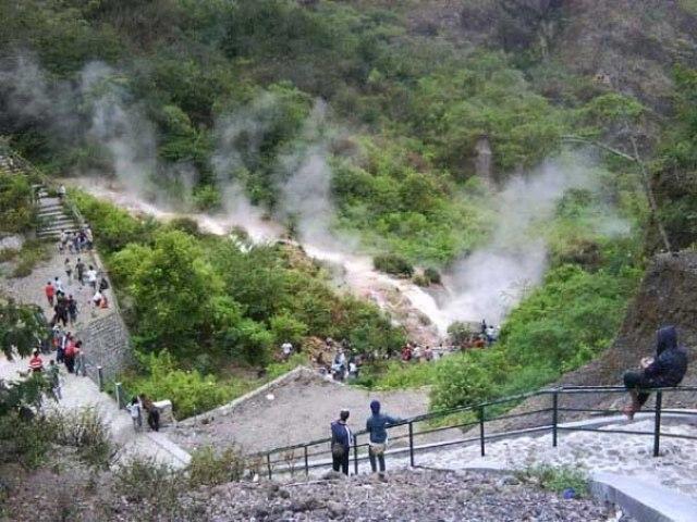 Sumber Air Panas Gunung Kelud