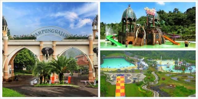 Tempat Wisata Anak Paling Favorit Kampung Gajah Wonderland di Bandung