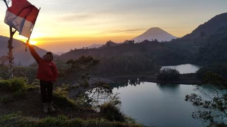 Tempat Wisata Bukit Sidengkeng Petak 9 Dieng