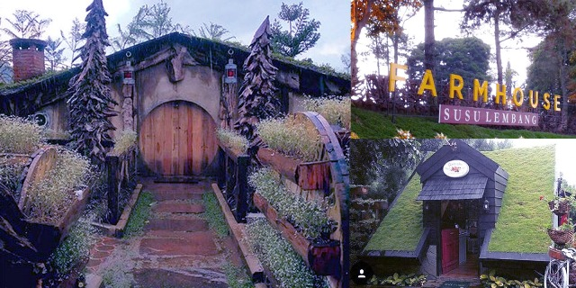 The Farm House - Tempat Wisata Anak Berupa Rumah Hobbit