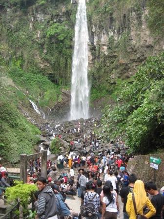 Wisata Tawangmangu Grojogan Sewu
