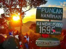Menikmati Keindahan Puncak Hanoman Gunung Kendalisodo