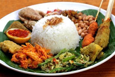 Nasi Campur Ayam Bali