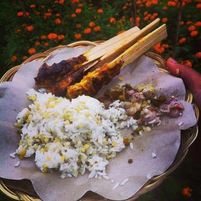 Nasi Sela (Ubi) Khas Bali