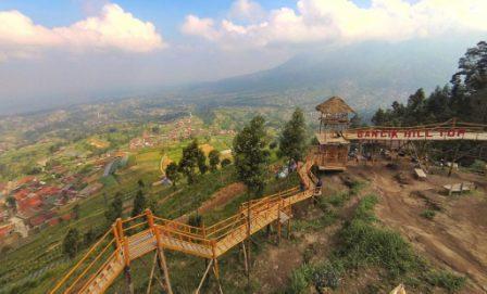 Objek Wisata Bukit Gancik Boyolali