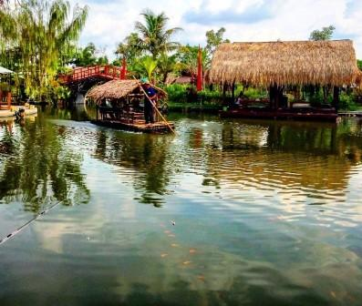 Objek Wisata Danau Tengah Sawah Boyolali