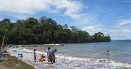 Objek Wisata Pantai Karang Tirta Pangandaran