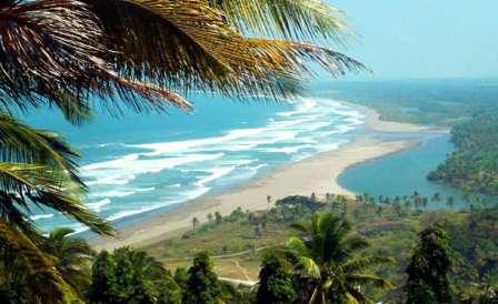 Objek Wisata Pantai Lembah Putri Pangandaran