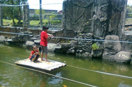 Objek Wisata Taman Salsabila Kuningan