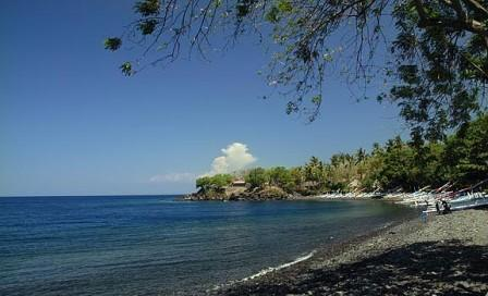 Pantai Tulamben Bali - pantai Bali