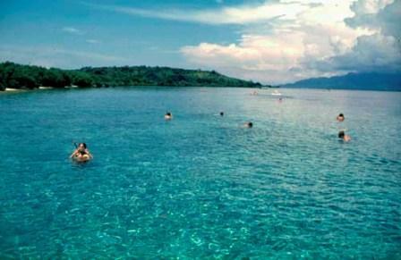 Pantai di Pulau Menjangan