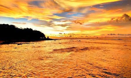 Sunrise Pantai Tanjung Lesung
