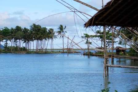 Tempat Wisata Pantai Saung Muara Pangandaran