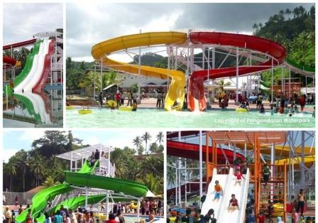 Wahana Liburan Pangandaran Waterpark