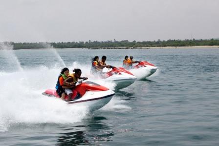 Water sport Pantai Tanjung Lesung