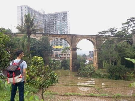 Jembatan Cincin Cikuda Jatinangor Sumedang