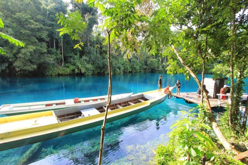 Objek Wisata Situ Cilembang di Sumedang