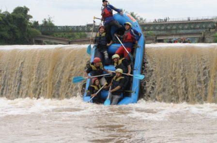 Rafting di Sungai Progo Atas