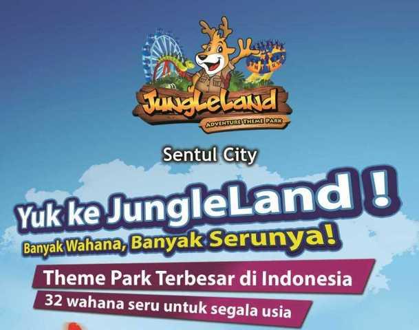 Wahana Permainan di jungleland sentul bogor - harga tiket masuk jungleland