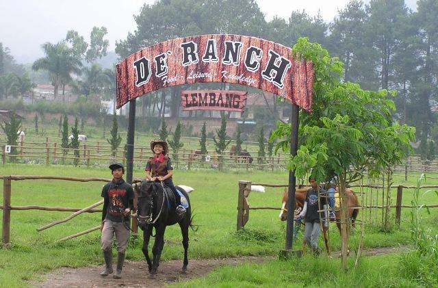 De'Ranch Lembang Wisata Ala Cowboy di Bandung
