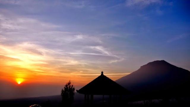 Keindahan objek wisata Posong Temanggung