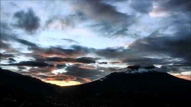Sunrise di Ketep Pass Magelang