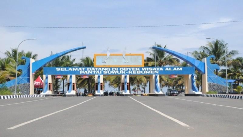 Gerbang Pantai Suwuk Kebumen