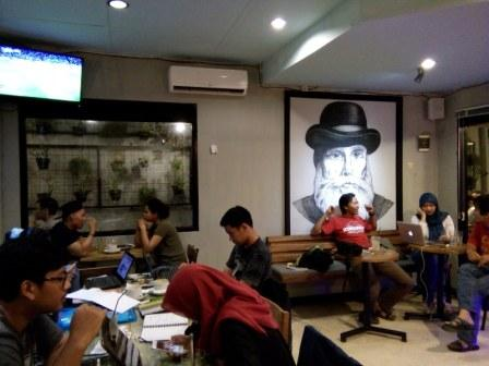 Blanco Coffee and Book Jogja