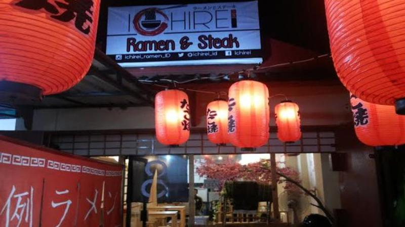 Nongkrong di Ichirei Ramen & Steak Bekasi - tempat nongkrong di Bekasi