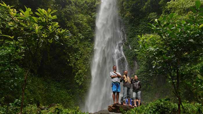 Air terjun Sinar Tiga via Lampungco