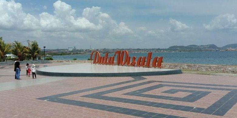 Pantai Hiburan Duta Wisata via Kompas