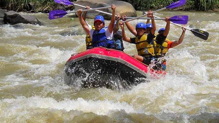Rafting di Way Besai via Lampungco