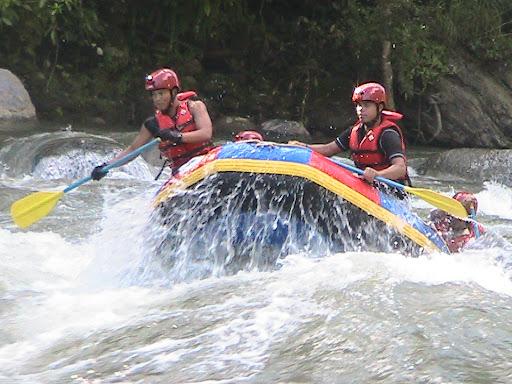 Rafting di Way Semong Tanggamus via Malahayati