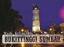 Objek Wisata Jam Gadang Bukittinggi