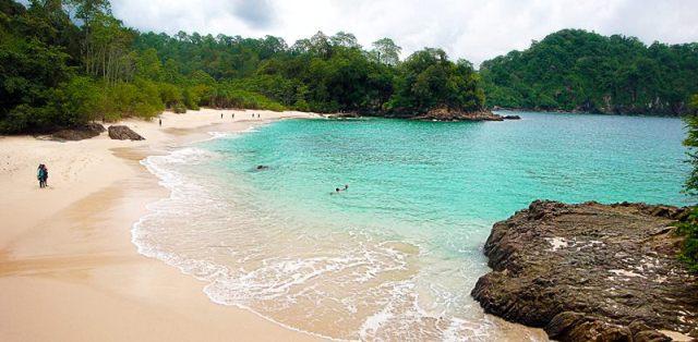 Pantai Teluk Hijau Taman Nasional Meru Betiri