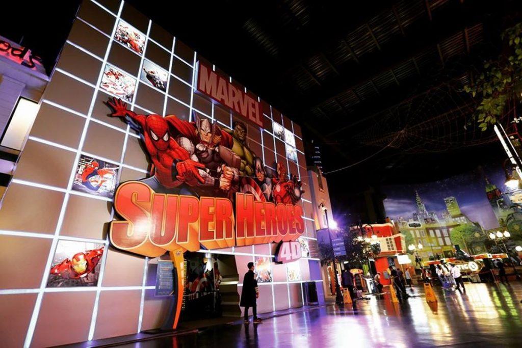 Marvel Superheroes 4D Trans Studio Bandung