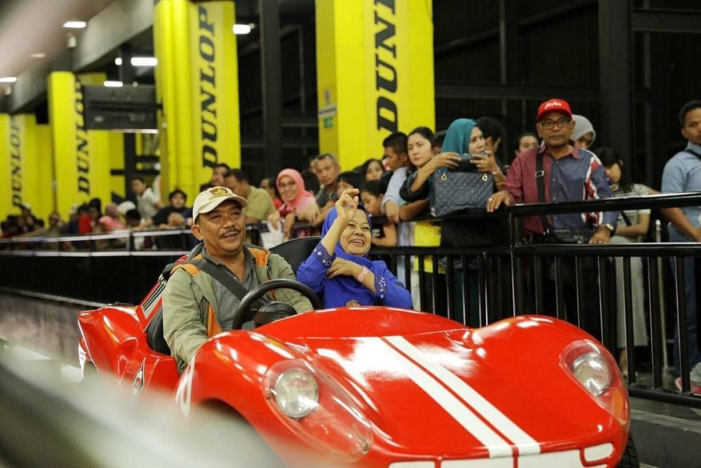 Transcar racing Trans Studio Bandung