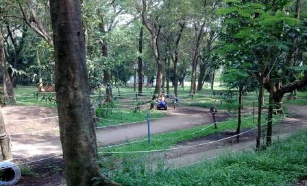 Wisata Keluarga di Taman Ria Maospati