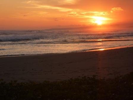Sunset di Pantai Cipatujah
