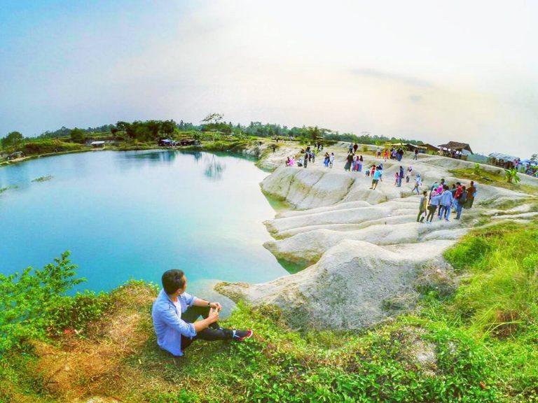 Objek Wisata Telaga Biru Cisoka via @edi_wahyudi3006