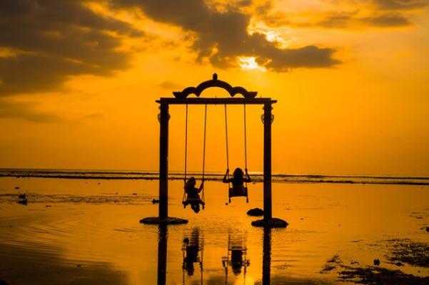 Sunset di Gili Trawangan Lombok