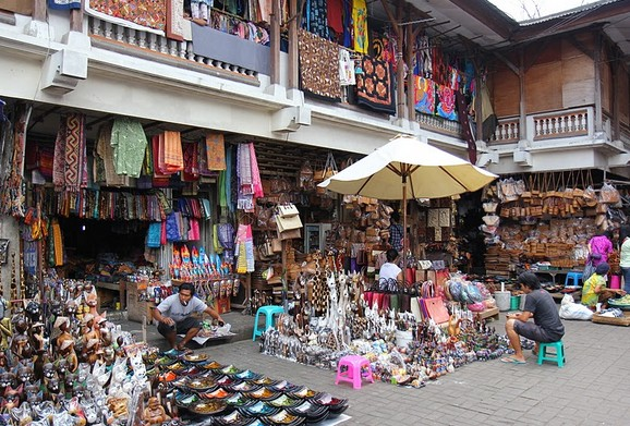 Wisata Pasar Tradisional di Ubud
