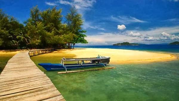 Wisata Pulau Bitila Gorontalo