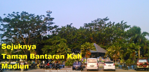 Taman Bantaran Kali Madiun (Istimewa)